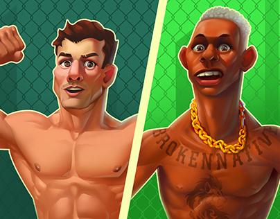 UFC #Character Design