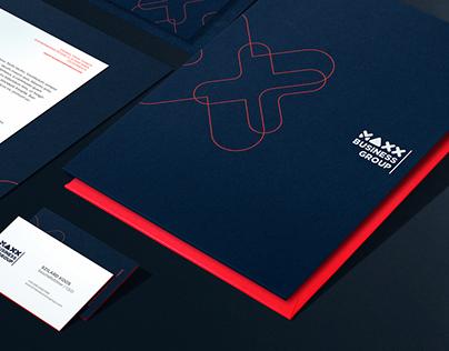 MAXX BUSINESS GROUP brand & website design