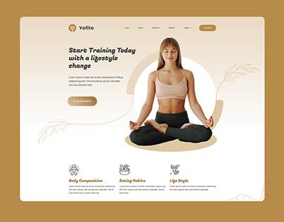 Fitness, Yoga and GYM UI Template