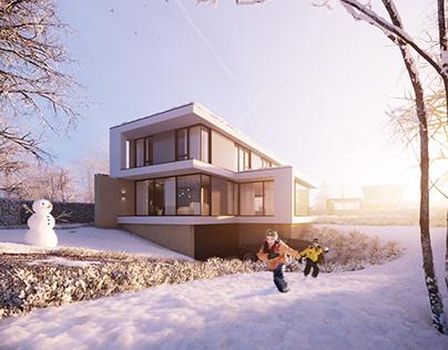 BPD Villa Ambyerveld | Winter