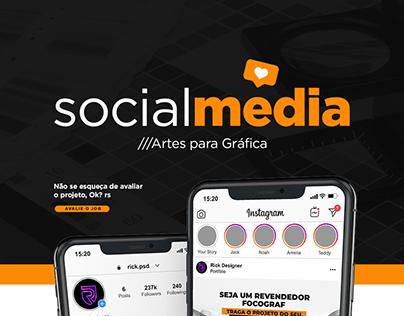 Gráfica   Social Media