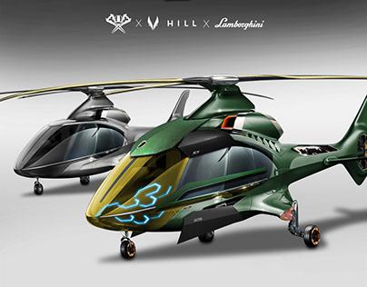 Hill HX50 Halo Lambo | Simon Designs