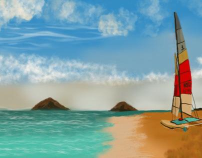 Sailing spot