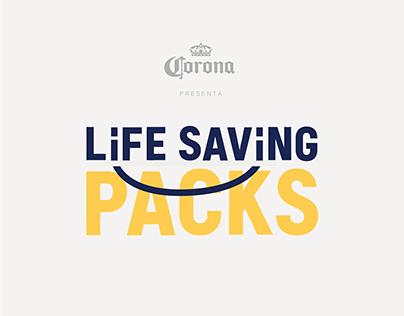 Life saving packs