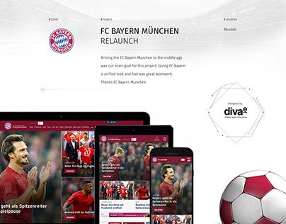 FC Bayern München Relaunch