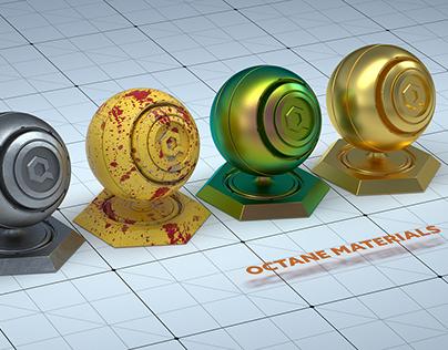 Free C4d Octane Materials