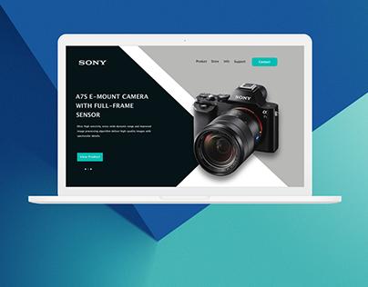 Sony UI Design