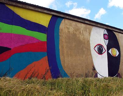 Omega- Street art Osterlen