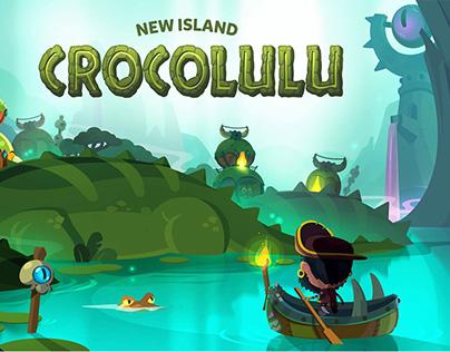 Pirate kings- Crocolulu island