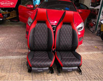 Độ nội thất xe Mercedes A250