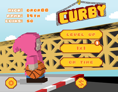 CURBY - mobile game