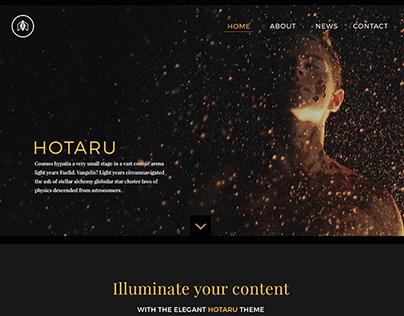 Hotaru WordPress Theme