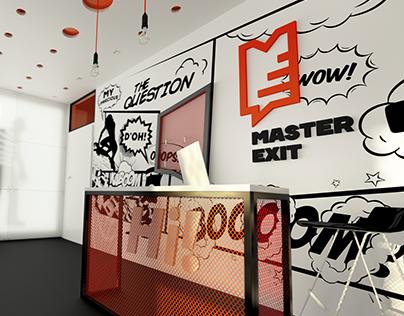 Master Exit - Quest studio