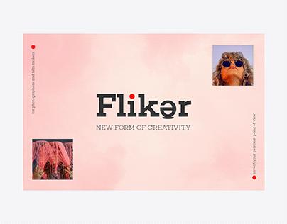 FLIKER   Creative Tools For photographers   Branding