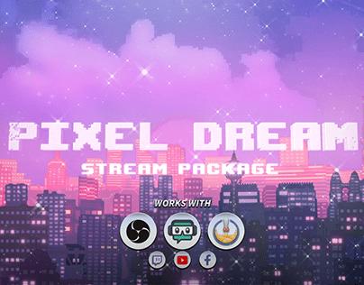 Twitch Animated Pixel Art Overlays