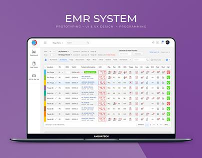 Shifa Hospital EMR System Web App