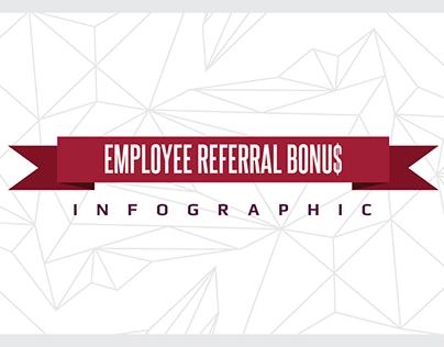 Employee Referral Bonus Infographic