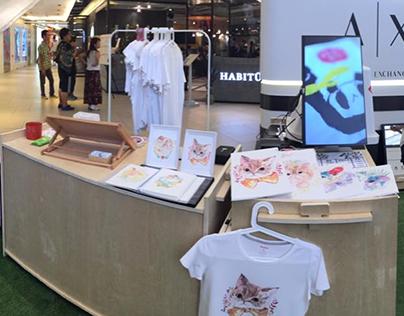 Snaptee.Co【美麗華商場 Pop Up 】 T恤設計
