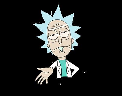 Rick - Procreate practice project