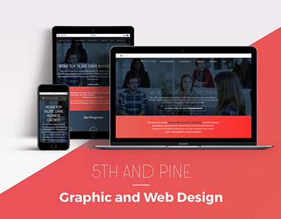 5th and Pine Graphic and Web Project