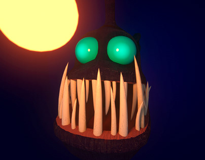 Anglerfish 3D model