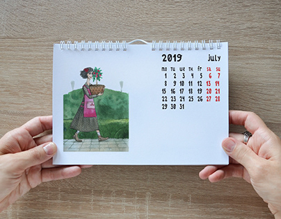 Calendar 2019 THE GARDEN WITCHES
