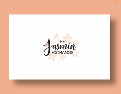 The Jasmine Exchange Website Mockup and Logo Design