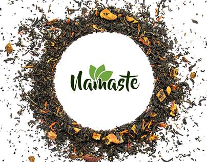 Namaste Tea | Logo & Packaging