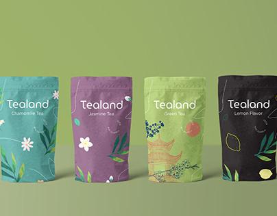 TEALAND TEA PACKAGING