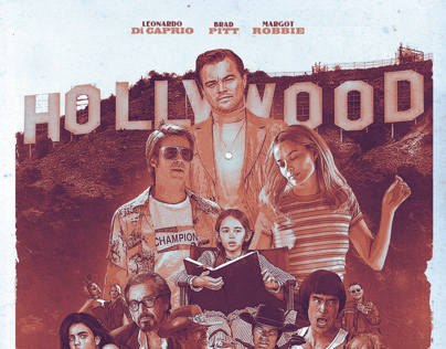 Once Upon A Time In... Hollywood | Fanart