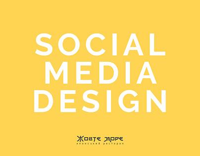 social media design for asian restaurant