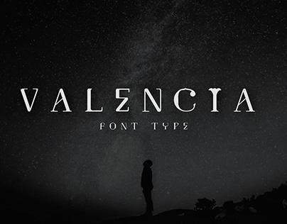 Valencia Free Font