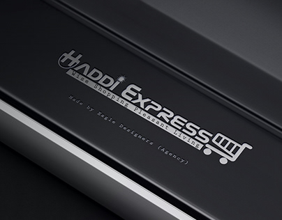 Haddi Express Logo For Client made by Eagle Designers