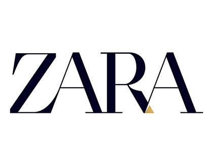 ZARA Logo concept by Moshik Nadav Typography