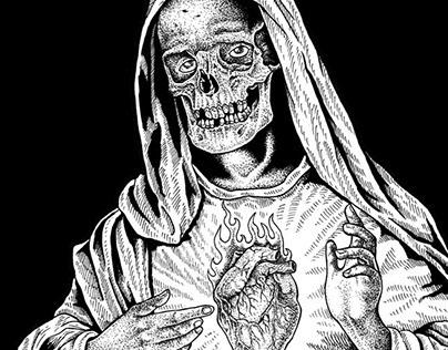 Virgin Mary ( Artwork For Sale )