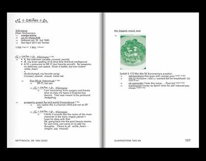 QUARANTINE DIARY — COVID-19