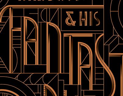 Fantastic Rum Accelerator Lettering, Wired Magazine