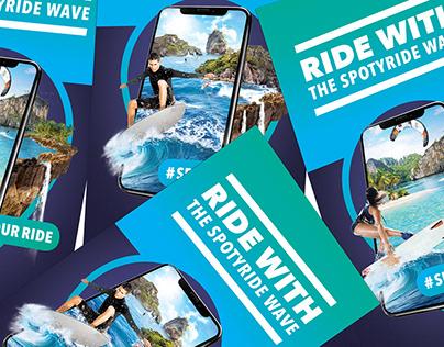 SPOTYRIDE - Spot your ride