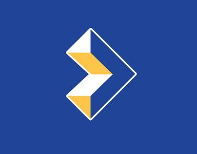 Play Button Logo Concept