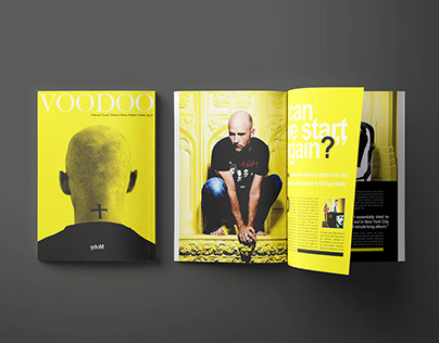 Voodoo Magazine design ideas