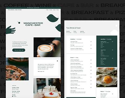 Two Birds & One Stone — Web Design