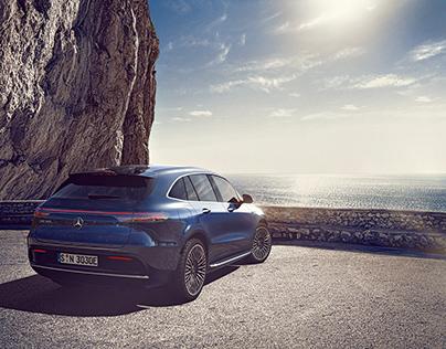 Mercedes Benz EQC - Mallorca goes Electric