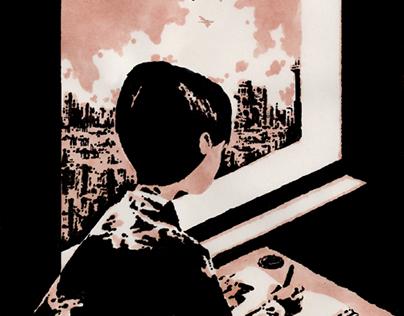 School of War (Book cover for La Table Ronde ed.)