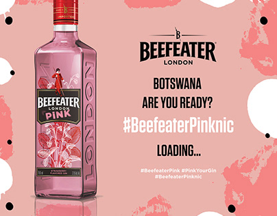 Beefeater Pink launch