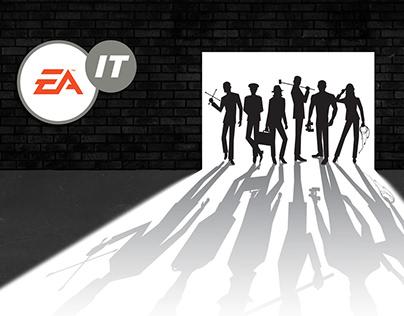 Electronic Arts IT Dept Branding