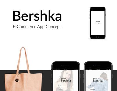 Bershka - App concept