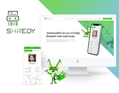 Shredy: UX/UI & Branding for HR Mobile App