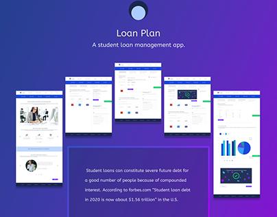 Loan Plan- A student loan management app