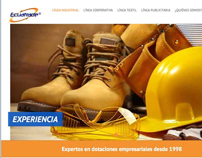 Ecuatrade website