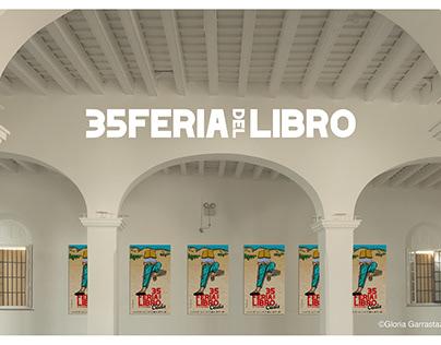 35 Feria del Libro Cádiz. Cartel Oficial